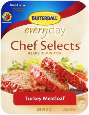 Butterball Chef Selects Turkey Meatloaf