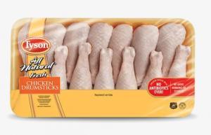 Tyson Chicken Drumsticks Family Pack
