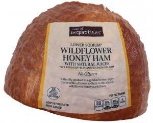 Taste of Inspirations Lower Sodium Wildflower Honey Ham
