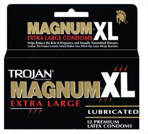 Trojan Extra Large Magnum Lubricated Condoms