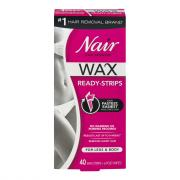Nair Wax Ready Body Strips