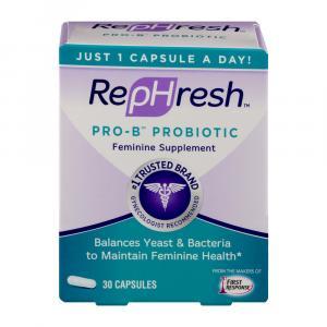 Rephresh Probiotic Feminine Supplements