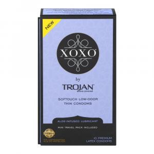 Xoxo By Trojan Brand Premium Latex Condoms