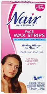Nair Face Wax Strips Kit