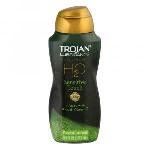 Trojan Lubricants H2O Sensitive Infused w/Aloe & Vitamin E
