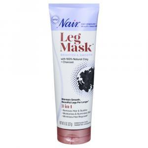 Nair Leg Mask with Natural Clay & 100% Pure Charcoal