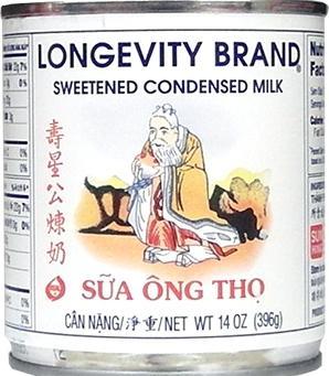 Longevity Full Cream Sweetened Condensed Milk