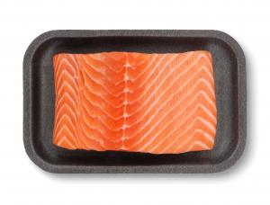 Vanilla Bourbon Salmon Portion
