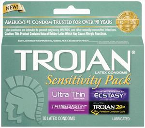 Trojan Sensitivity Pack Condoms