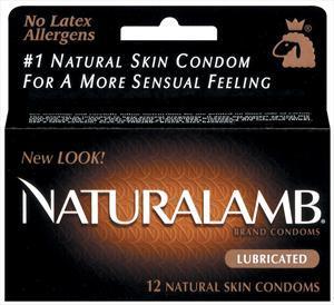 Trojan Natural Lamb Lubricated Condoms