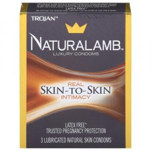Trojan Natural Lamb Lubricated Condoms
