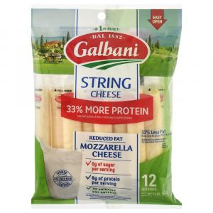 Galbani Reduced Fat Cheese Stringster