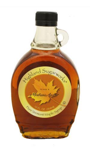 Highland Sugarworks 100% Medium Maple Syrup
