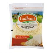 Galbani Shredded Whole Milk Low Moisture Mozzarella