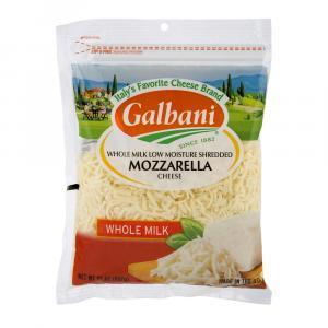 Galbani Shredded Whole Milk Low Moisture Mozzarella