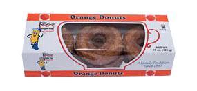 Koffee Kup Orange Donuts Cholesterol Free