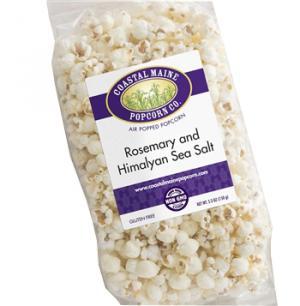 Coastal Maine Popcorn Co. Rosemary & Sea Salt