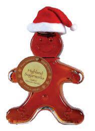 Highland Sugarworks Gingerbread Man Maple Syrup Bottle