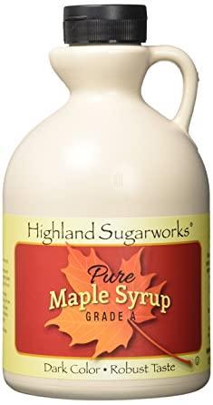 Highland Sugar Works Maple Syrup Jug