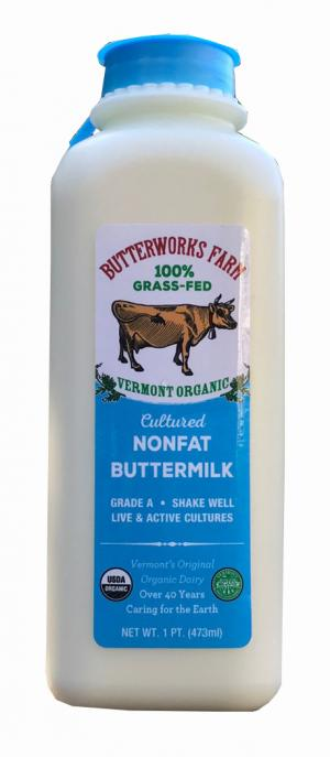 Butterworks Farm Cultured Nonfat Buttermilk