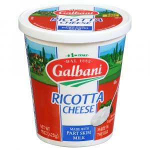 Galbani Part Skim Ricotta Cheese