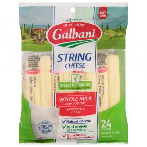 Galbani Whole Milk String Cheese