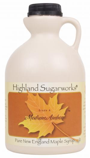 Highland Sugarworks Medium Amber Maple Syrup