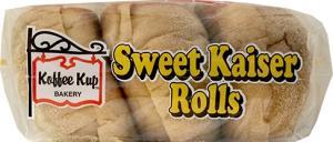 Koffee Kup Sweet Kaiser Rolls