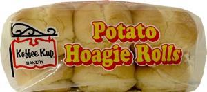 Koffee Kup Potato Hoagie Rolls