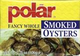Polar Fancy Whole Smoked Oysters