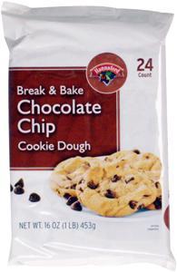 Hannaford Break & Bake Chocolate Chip Cookies