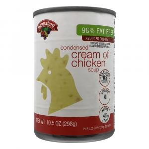 Hannaford 98% Fat Free Reduced Sodium Cream of Chicken Soup
