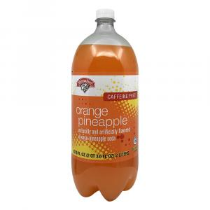Hannaford Orange Pineapple Soda