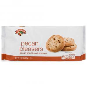 Hannaford Pecan Pleasers Pecan Shortbread Cookies