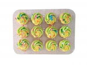 Hannaford Mini Spring Gold Cupcakes