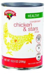 Hannaford Chicken & Stars Soup