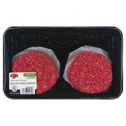 Hannaford Grass-Fed Ground Beef Patties 85/15