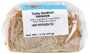 Hannaford Turkey Homestyle Sandwich