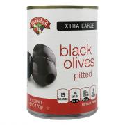 Hannaford Extra Large Black Olives