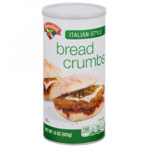 Hannaford Seasoned Bread Crumbs