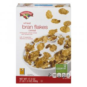 Hannaford Enriched Bran Flakes Cereal