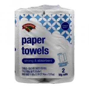 Hannaford Cas Big Roll Paper Towels