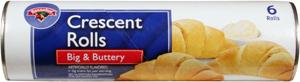 Hannaford Big & Buttery Crescent Rolls