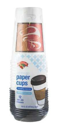 Hannaford Hot Cold Travelers Cup With Lid