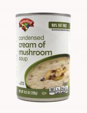 Hannaford 98% Fat Free Condensed Cream of Mushroom Soup