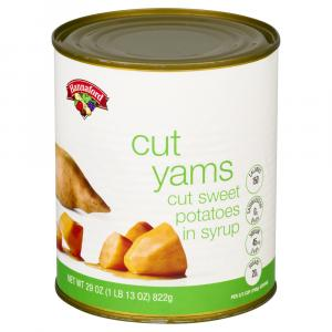 Hannaford Cut Yams