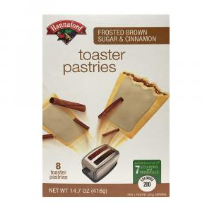Hannaford Brown Sugar Toaster Pastries