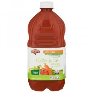 Hannaford Low Sodium 100% Vegetable Juice