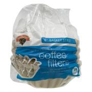 Hannaford Natural Basket Style Unbleached Coffee Filters