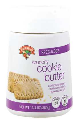 Hannaford Speculoos Crunchy Cookie Butter